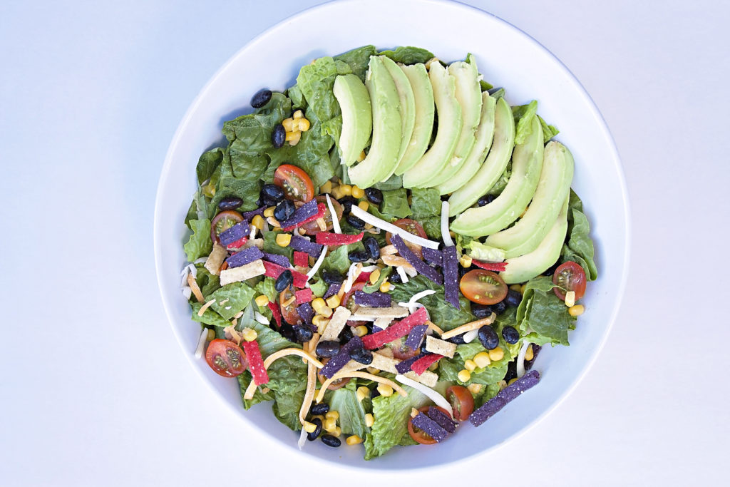Bean Corn Tortilla Salad